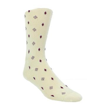 History of Vintage Men's Socks -1900 to 1960s Diamonds 1-pack $6.50 AT vintagedancer.com