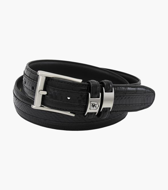 Maes Genuine Leather Embossed Belt