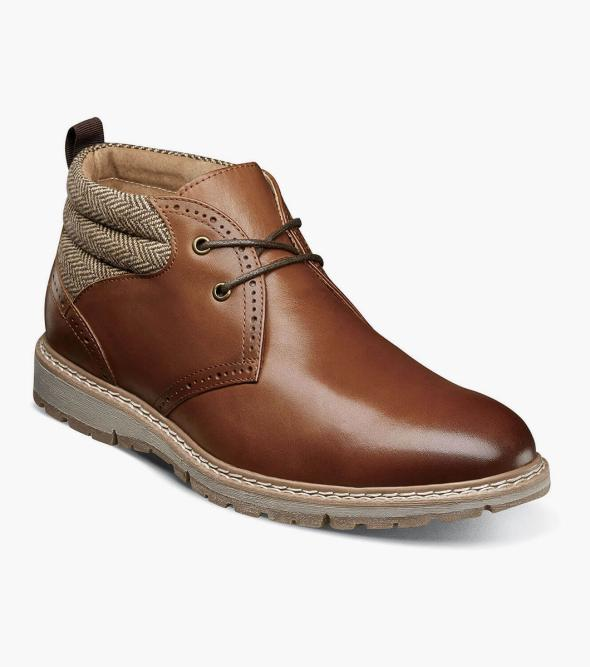 Grantley Plain Toe Chukka Boot