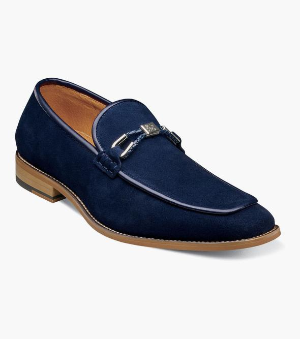 Colbin Moc Toe Ornament Strap Slip On