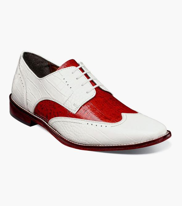 Ferrara Leather Sole Wingtip Oxford