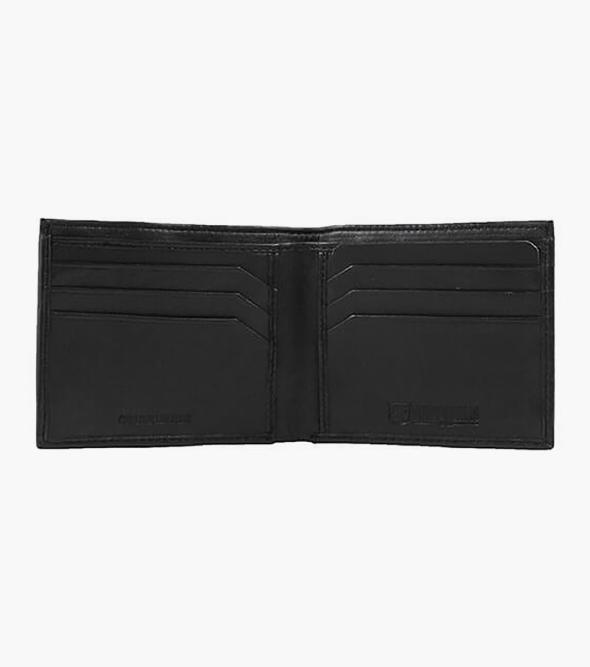Bi-Fold Wallet Genuine Leather