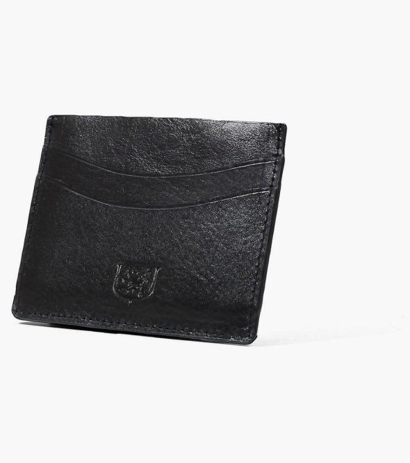 Black Cardholder Premium Leather