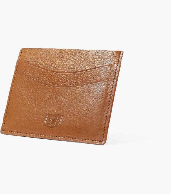 Tan Cardholder Premium Leather