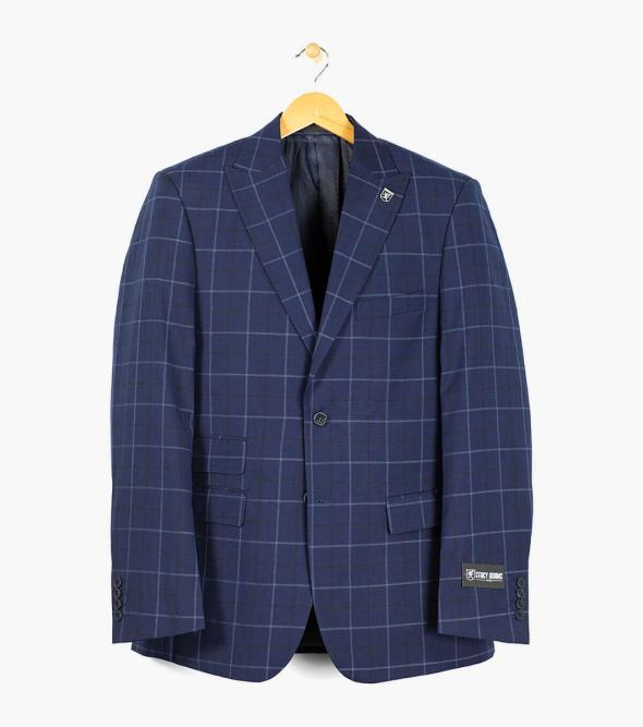 Men's Vintage Style Suits, Classic Suits Rodney Vested Suit $175.00 AT vintagedancer.com