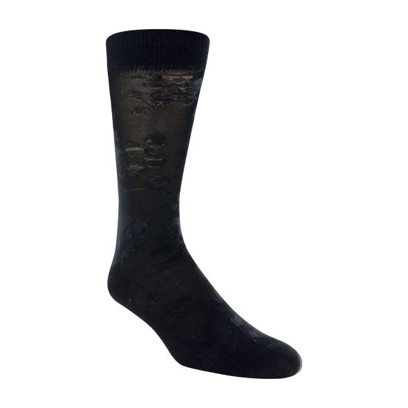 Cherry Blossom Men's Crew Dress Sock