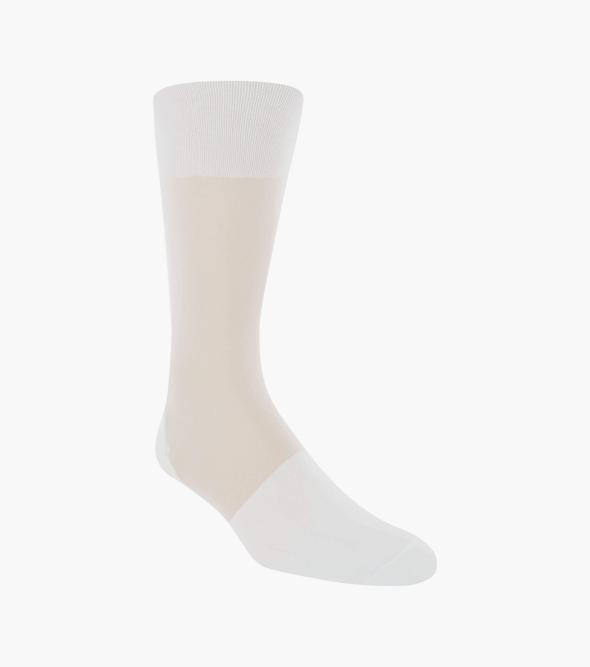 Silky Sheer Men's Crew Dress Sock