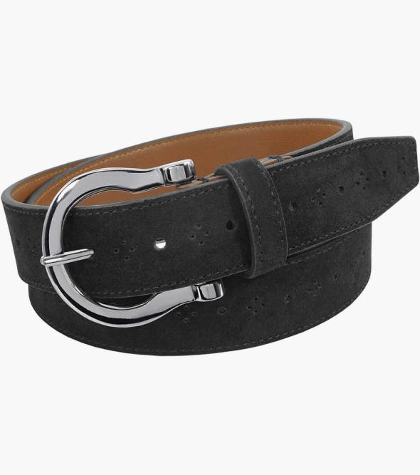 Richmond Suede Perf Belt