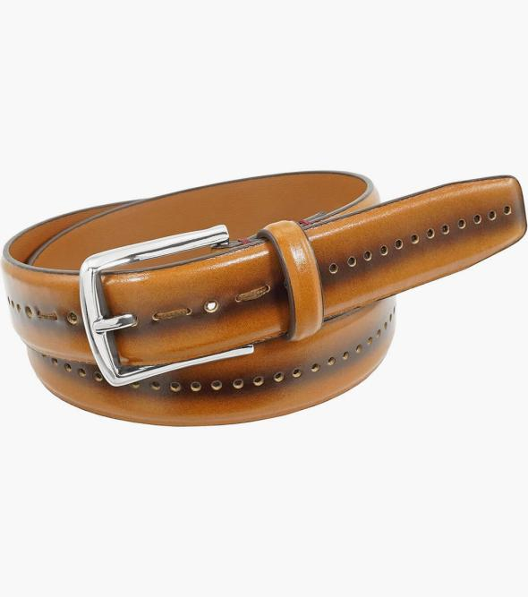Carnegie Perf Leather Belt