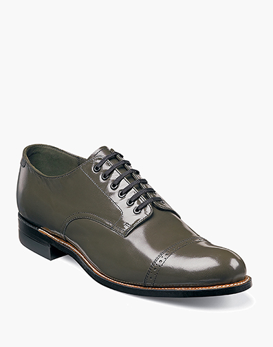 Madison  Cap Toe Oxford in Olive for $120.00