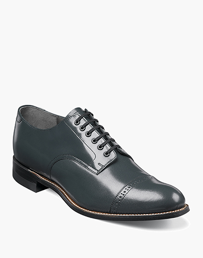 Madison  Cap Toe Oxford in Navy for $120.00