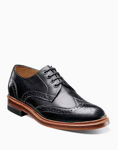 Madison II Wingtip Oxford in Black for $69.90