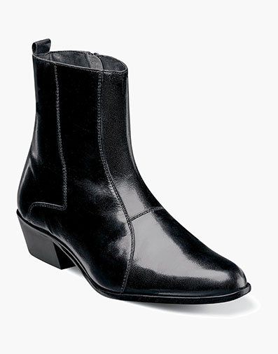 Santos  Slip On Boot in Black for $95.00