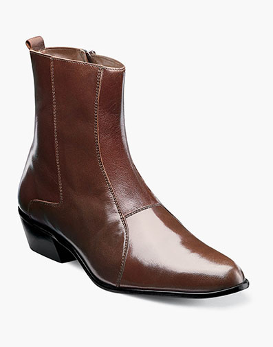 Santos  Slip On Boot in Cognac for $95.00