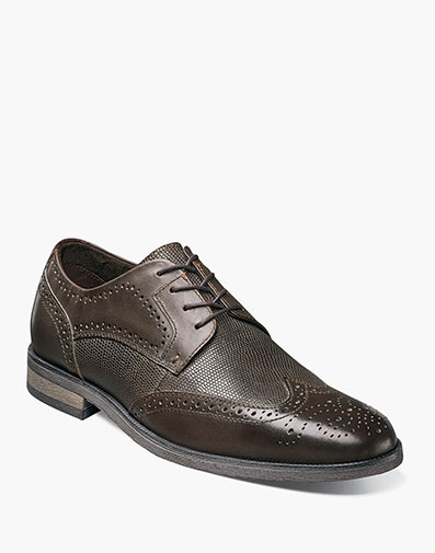 Bastian Wingtip Oxford in Brown for $69.90