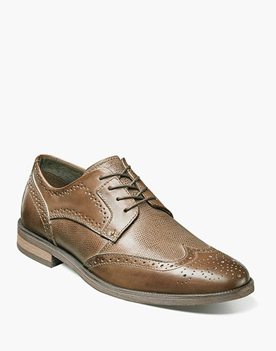 Bastian Wingtip Oxford in Cognac for $69.90