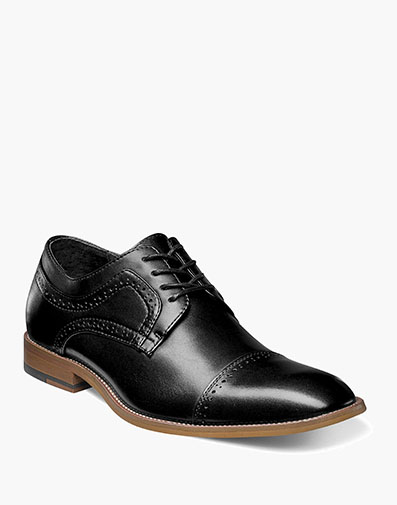 Dickinson Cap Toe Oxford in Black for $100.00