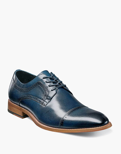 Dickinson Cap Toe Oxford in Indigo for $100.00