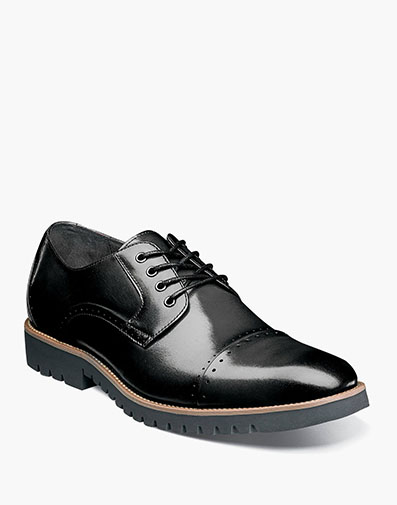 Barcliff  Cap Toe Oxford in Black for $69.90