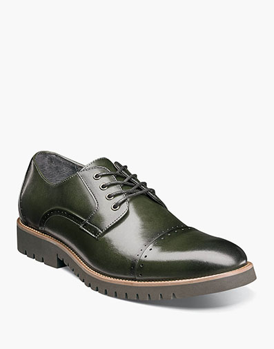 Barcliff  Cap Toe Oxford in Cargo for $79.90