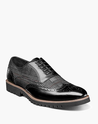 Baxley  Wingtip Oxford in Black for $110.00