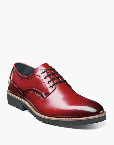 Barclay  Plain Toe Oxford in Cranberry for $100.00