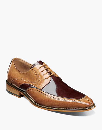Sanford Moc Toe Oxford in Tan Multi for $120.00