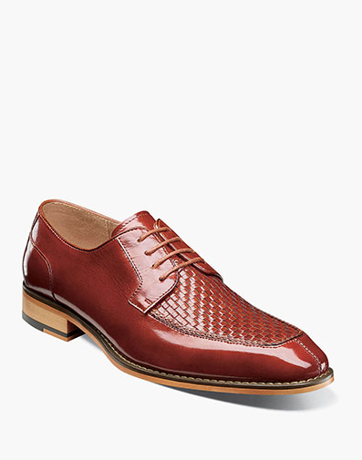 Winthrop Moc Toe Woven Oxford in Cognac for $94.90