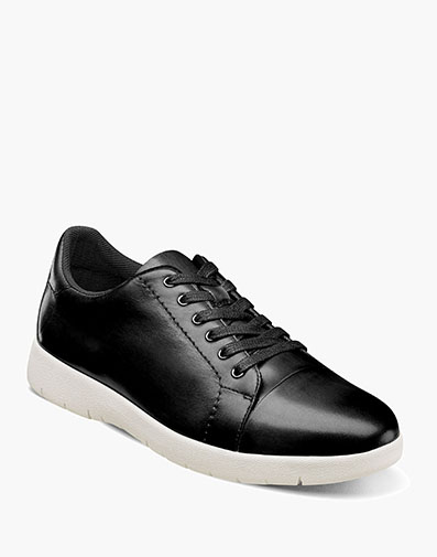 Hawkins Cap Toe Lace in Black for $100.00