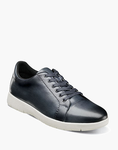 Hawkins Cap Toe Lace in Indigo for $100.00