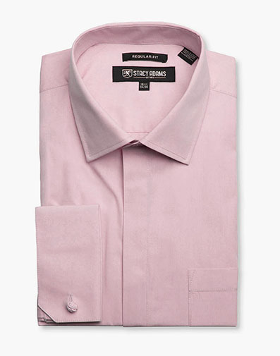 Carson Dress Shirt  in Pink for $40.00