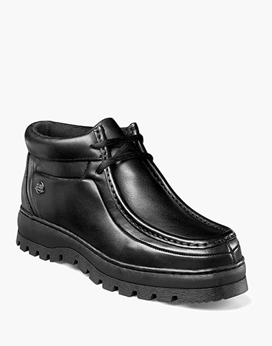Dublin II  Moc Toe Boot in Black Smooth for $49.90