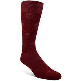 Tonal Skull  in Cranberry for $5.90