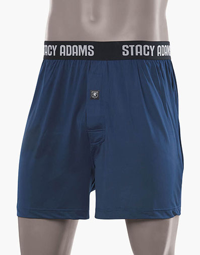 Boxer Shorts ComfortBlend Loungewear in Navy for $12.95