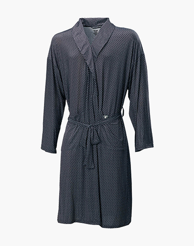 Social Robe ComfortBlend Loungewear in Black Multi for $60.00