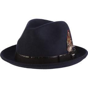 Westland Fedora  in Blue for $70.00