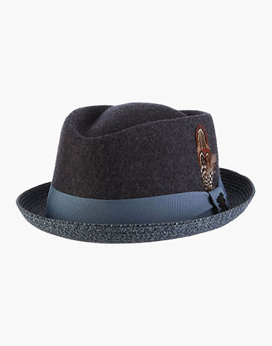 Hillsdale Fedora  in Azure for $70.00