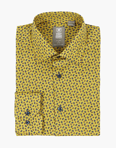 Milton Dress Shirt  in Yellow for $40.00